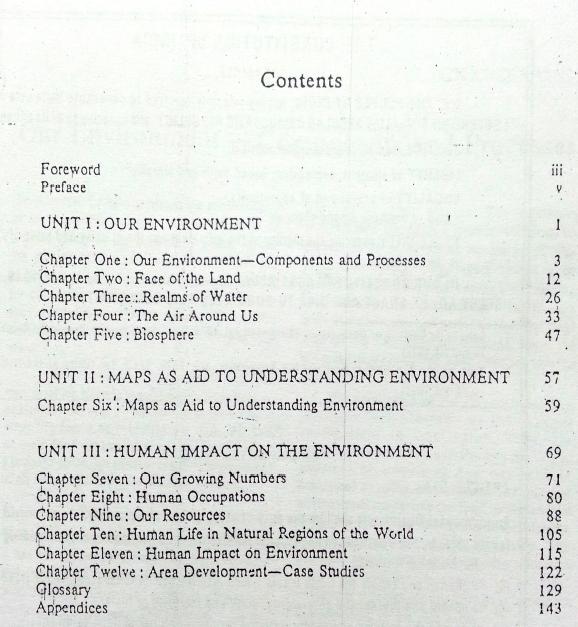 Understanding Environment contents
