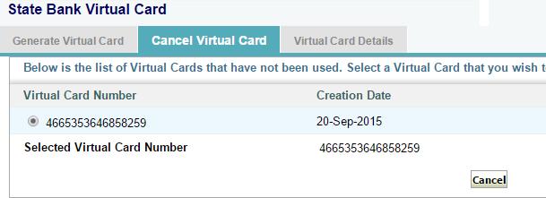 cancel vcc