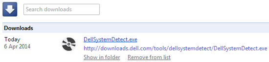 dell system detect