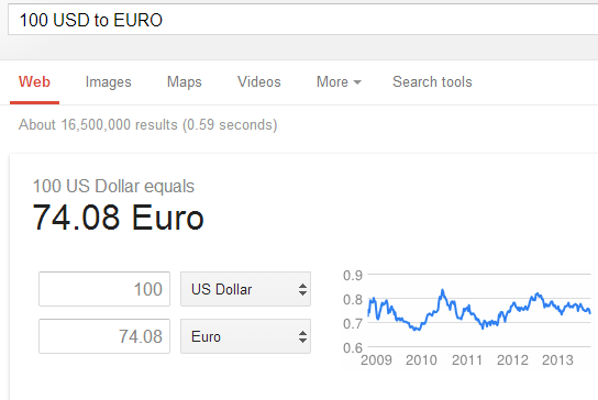 You Will Also See A Small Graph In Which Can Previous Year Exchange Rates The General Search Query For Currency Conversion Google Is Following