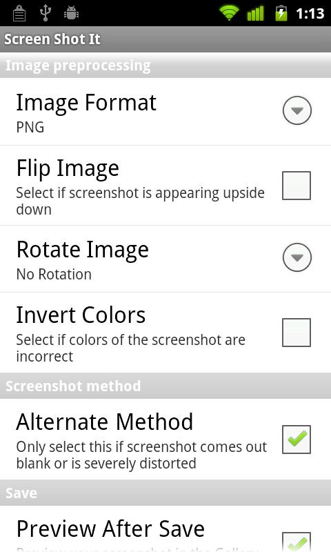 flip rotate image invert colors android