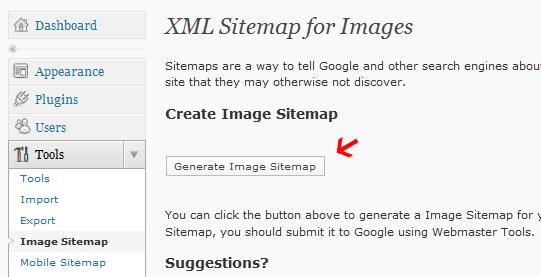 google image xml sitemap