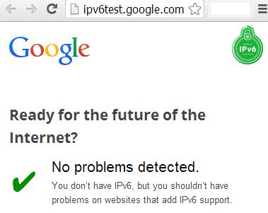 google ipv6