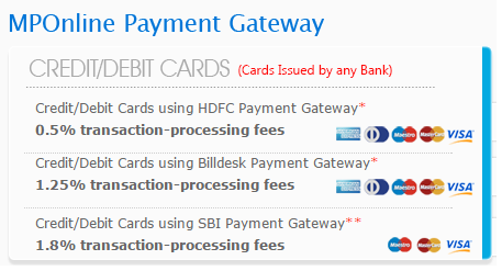 mponline payment gateway