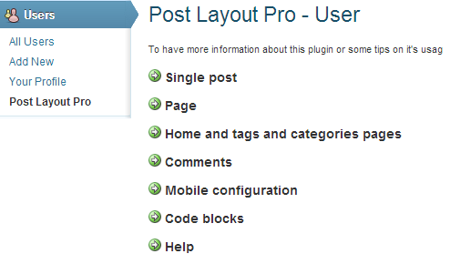 post layout pro user