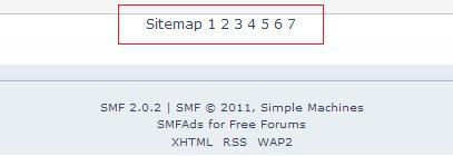 smf sitemap