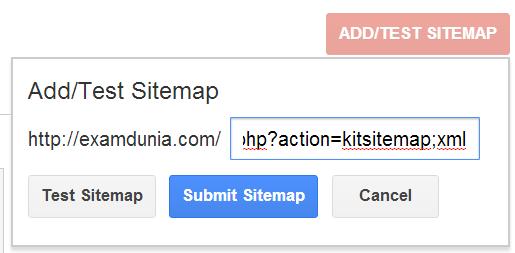 smf xml sitemap google webmaster tools