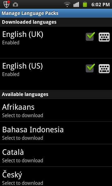 swiftkey x languages