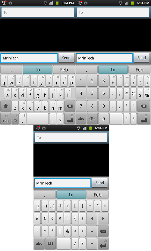 swiftkey x qwerty keyboard