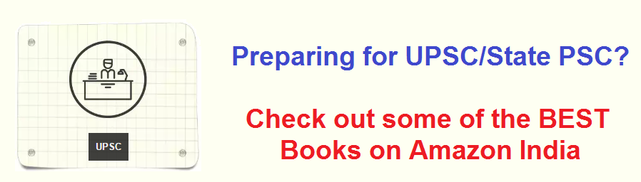 Best Books for UPSC and State PSC